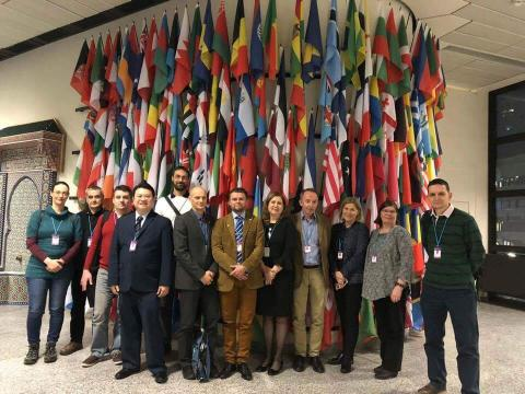 Radiographers attanting IAEA Radiation Protection Conference, 2017